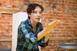 Tia Shearer as Melinda, photo by Lock and Co.